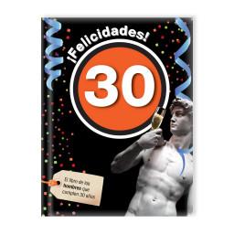¡Felicidades! 30 (Hombre)
