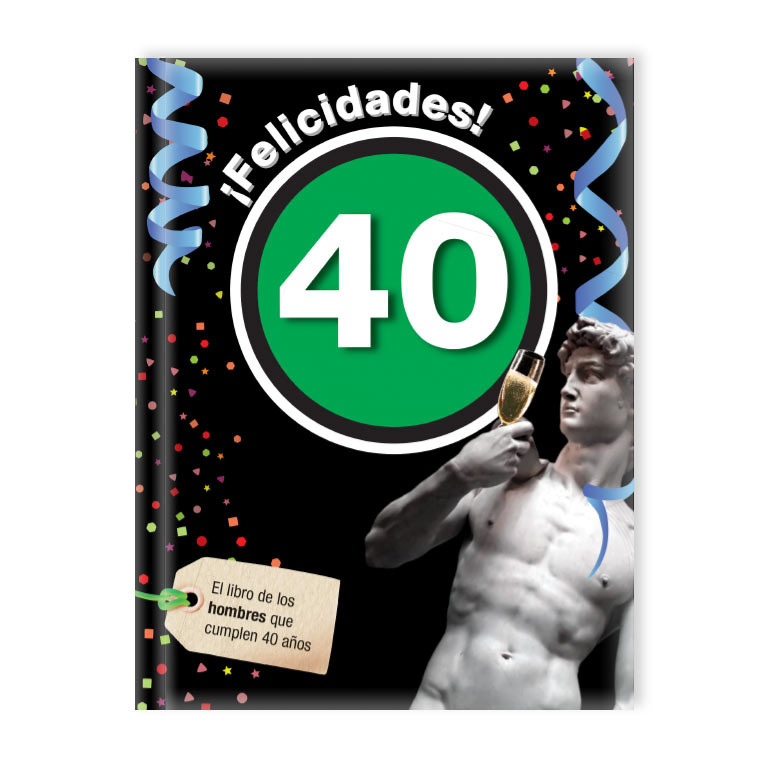 ¡Felicidades! 40 (Hombre)